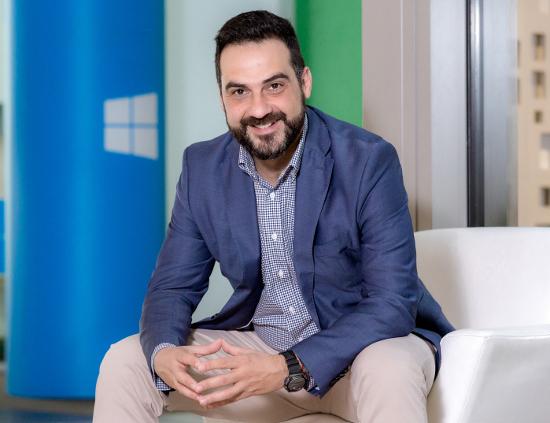 Fernando González, responsable de desarrollo de canal de Microsoft.