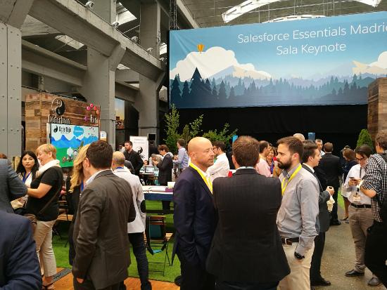 Un evento anterior de Salesforce.