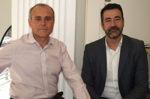 José Gil y David Quirós, directivos de Einzelnet.