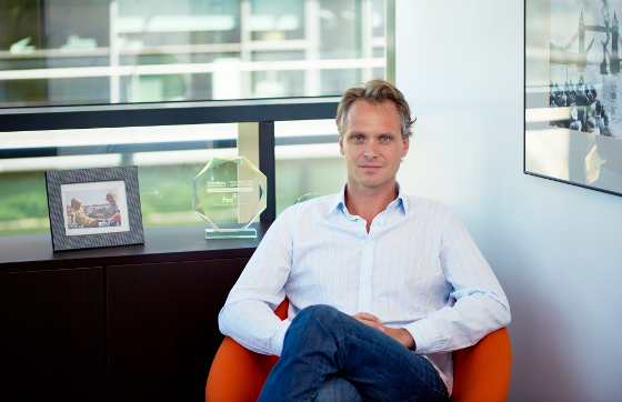 Alex Puregger, CEO de Fon.