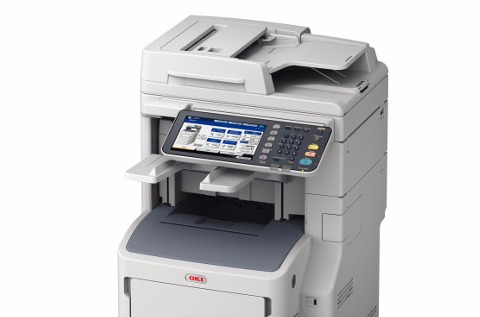Impresora Oki MB770.