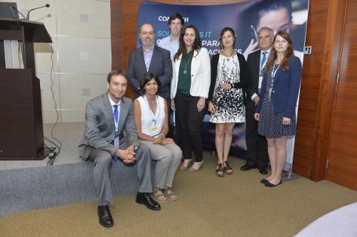 ponentes del evento de RedesTelecom y Comarch