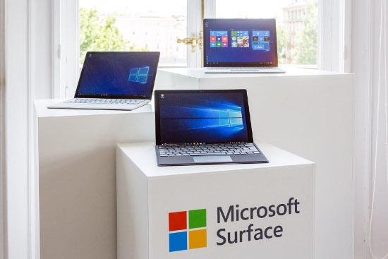 Nuevas Surface Pro y Laptop.