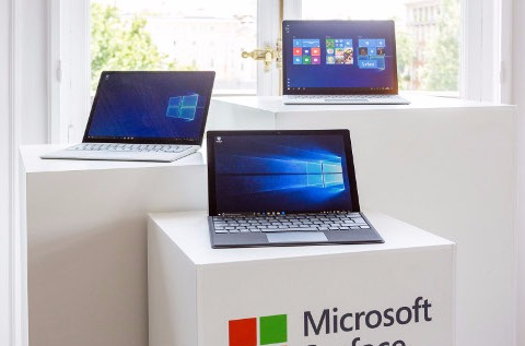 Familia Surface Pro y Laptop