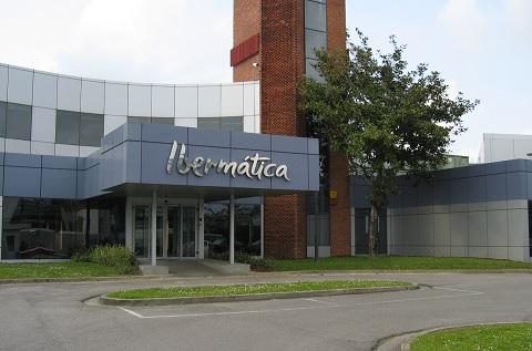 Imagen de la sede central de Ibermática en San Sebastián