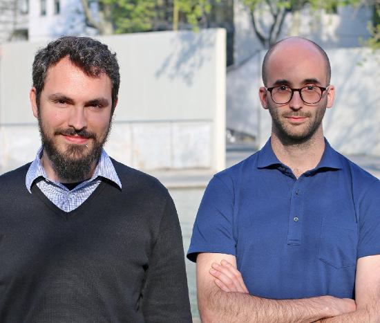 Jordi Romero y Pau Ramón, dos de los fundadores de Factorial.