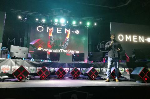 Salva Cayón, de HP, presenta los nuevos Omen.