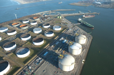 Instalación portuaria.