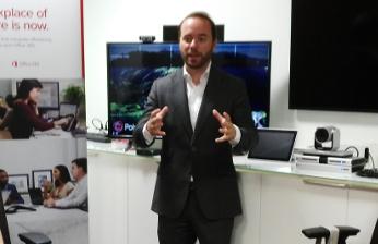 José María Vilar-Sancho, portavoz de Polycom España.