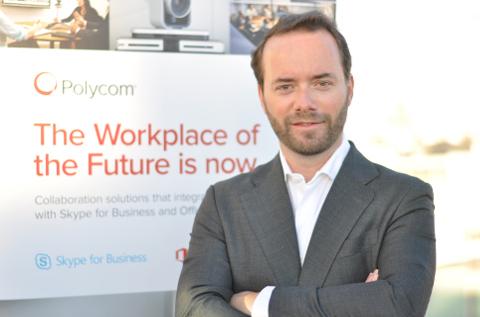 José María Vilar-Sancho Raga, Portavoz y Sales Manager de Polycom Iberia.