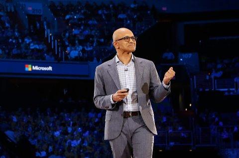 Satya Nadella en el Microsoft Inspire.