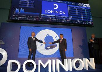 Dominion crece por encima de los objetivos marcados.
