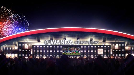 Cellnex conecta el Wanda Metropolitano y lo prepara para el 5G.