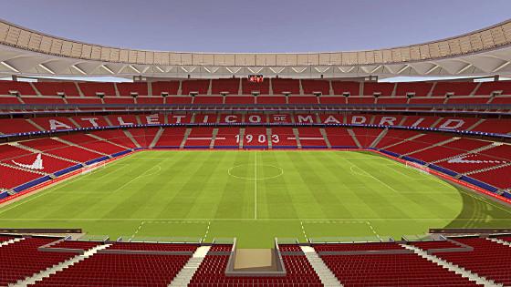 Wanda Metropolitano dará cobertura de banda ancha móvil a 68.000 espectadores.