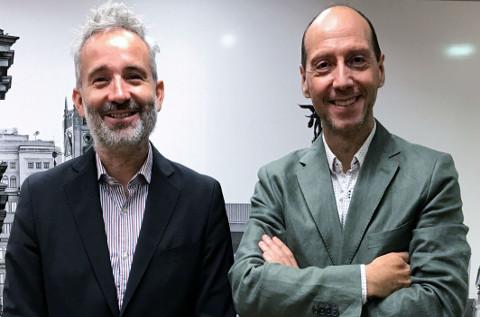 Enrique Serrano, Tinámica, y Pedro Pérez, Accenture