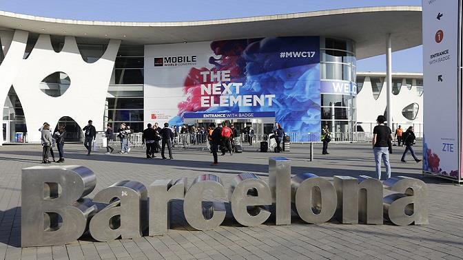 Instalaciones del Mobile World Congress de Barcelona.