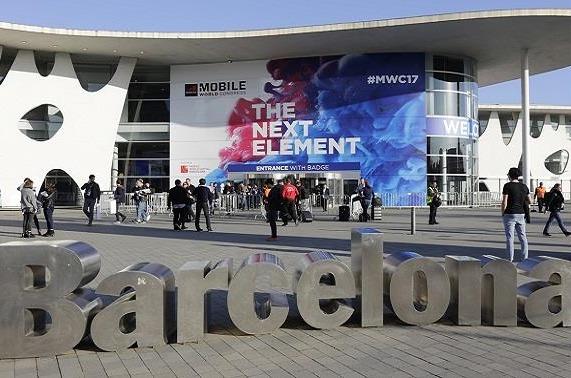 Fira de Barcelona que acoge el MWC.