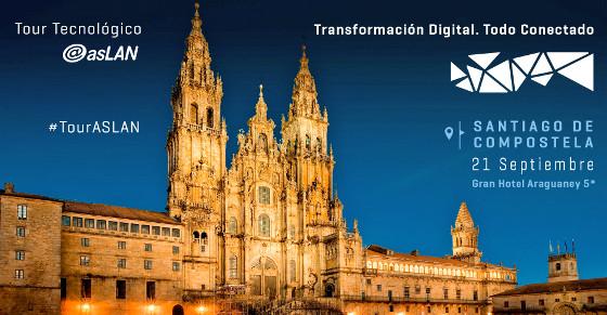 Santiago acoge el primer foro del Tour Tecnológico Aslan 2017