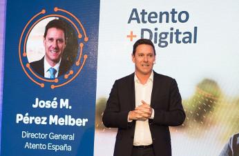 José María Pérez Melber, director general de Atento en España y región EMEA.