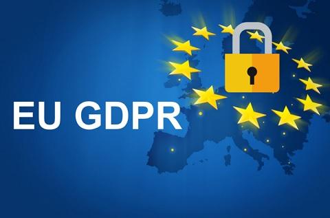 GDPR en Europa.