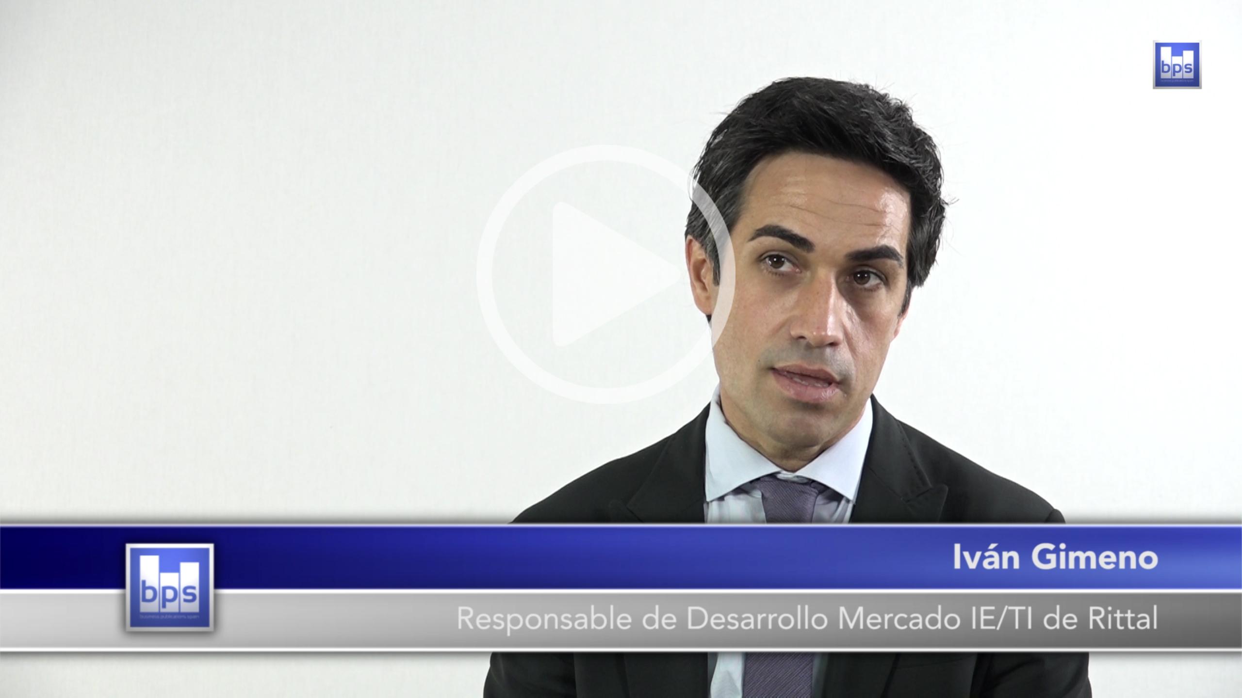Iván Gimeno, responsable de Desarrollo de Mercado IE/TI de Rittal.