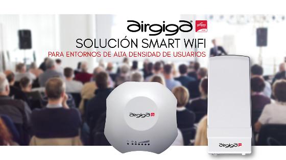 Airgiga: nueva plataforma para redes Wi-Fi de alta densidad de usuarios