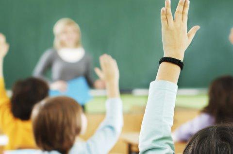 Alumnos en una clase.