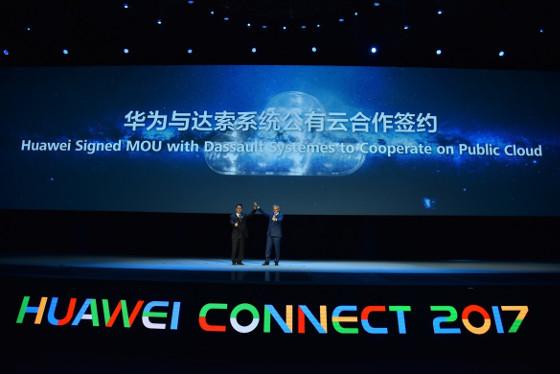 Huawei Cloud y Dassault Systèmes firman un acuerdo de colaboración