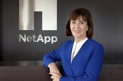 María José Miranda, Directora General de NetApp Iberia.
