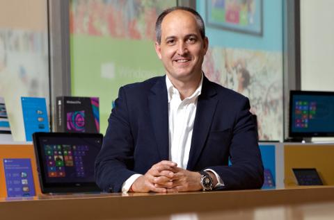 Rafael Sanz, responsable de partners de Microsoft Ibérica.