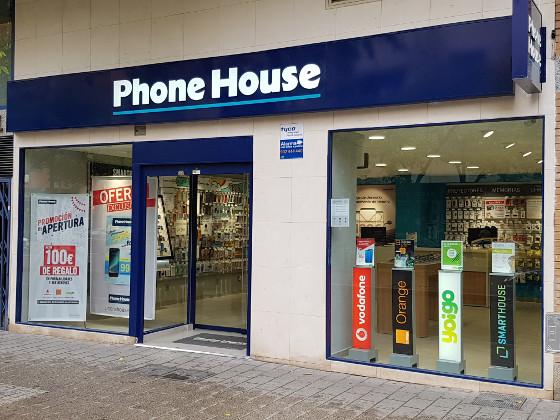 Una tienda de Phone House en Albacete.