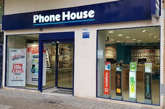 Tienda de Phone House en Albacete.