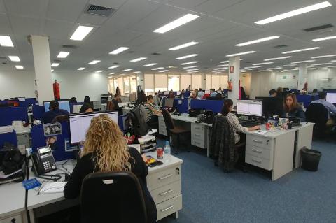Oficinas de GTI en Madrid.