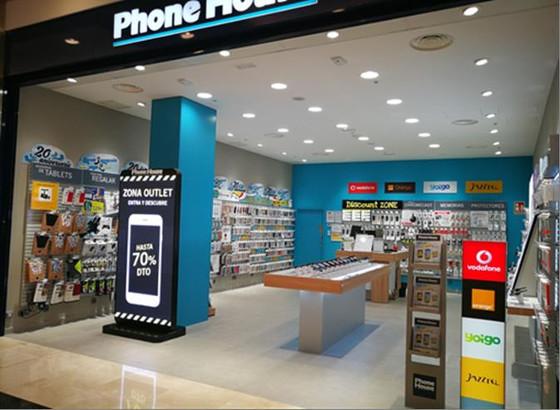 Establecimiento de Phone House en Madrid.