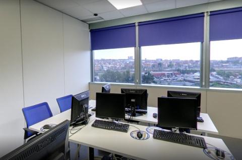 Oficina de Global Knowledge en España.