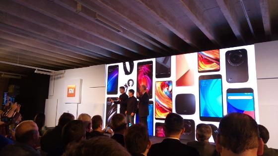 Presentación de Xiaomi en España.