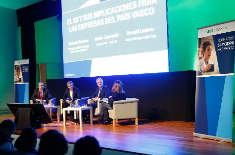 Jornada de IVA Online de Sage en el País Vasco.