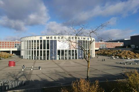 Sede del evento europeo anual NetApp Insight, en Berlín (Alemania).
