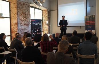 Presentación de Tenda Technology en España. Howard Yang, Country Manager de Tenda Technology Iberia.