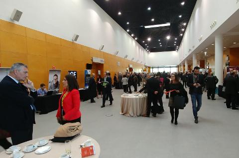 Aspecto del evento ERPCRM Day de Madrid.