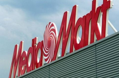 Logo de MediaMarkt en una de sus tiendas.