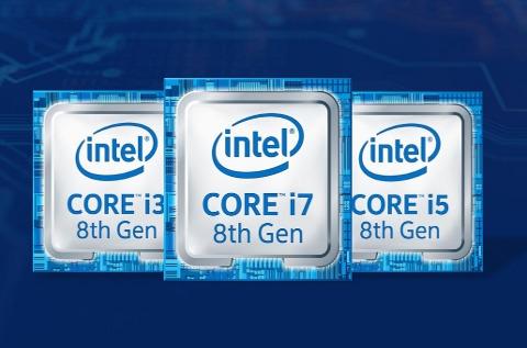 Familia Intel Core de octava generación.