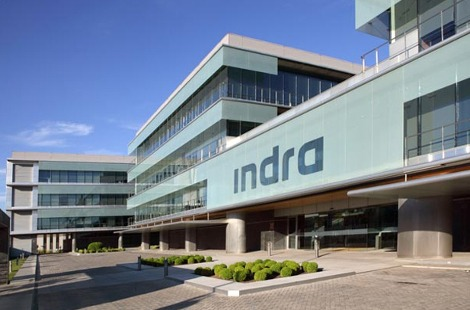 Sede de Indra en Madrid.