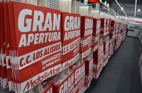 Tienda de MediaMarkt en Las Palmas de Gran Canaria.