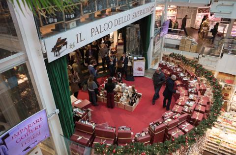 Establecimiento de comida en Milán de la cadena Eataly.