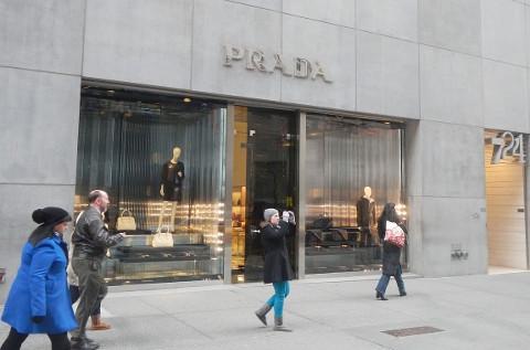 Tienda de Prada en Nueva York.