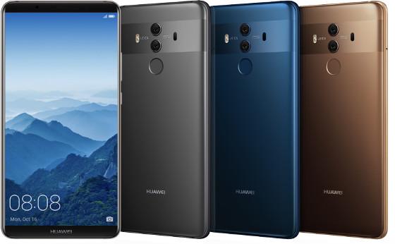 Huawei Mate 10 Pro estará disponible en los Estados Unidos a partir del 18 de febrero.