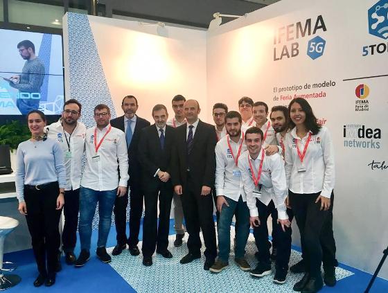 IFEMA LAB 5G dirige el viaje hacia las nuevas redes móviles en FITUR 2018.