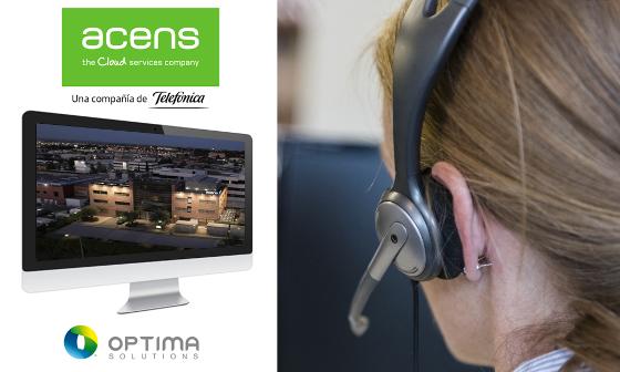 Acens agiliza su servicio de atención al cliente con Optima Solutions.