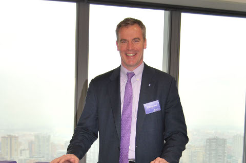 Ed Meyercord, presidente y CEO de Extreme Networks